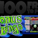 $100 Free to Play Bonus Bingo