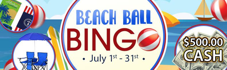 Beach Ball Bingo