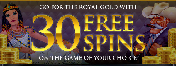 Ka je wa Royal Gold da 30 Free Spins