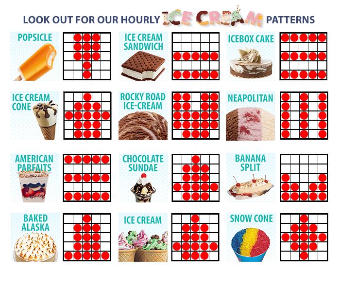 Bingo mønster