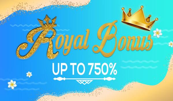 Royal Bonusni oling va 1 1 Bepul sotib oling