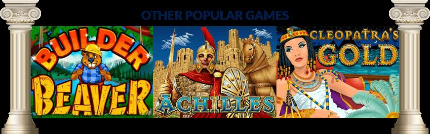 WANNAN KUMA GABA: Mai gina Beaver - Achilles - Cleopatra's Gold