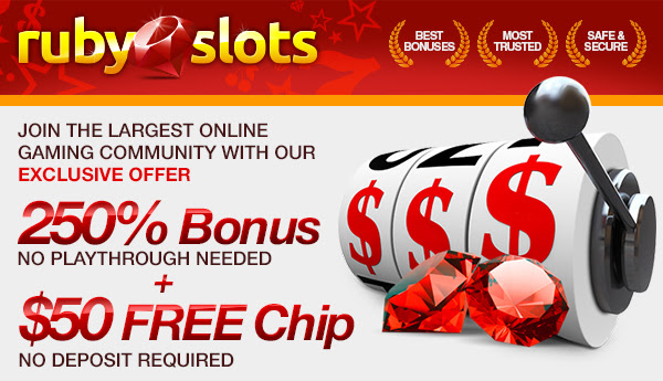 250% Bonus plus a  Free Chip