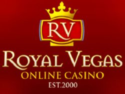 Royal Vegas skärmdump