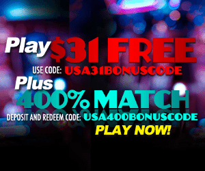 Sloto Cash Casino - Play $31 FREE + 400% Match Bonus