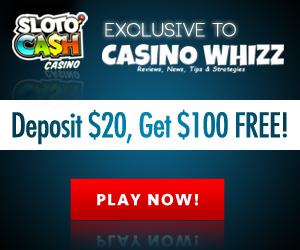 Sloto Cash Casino - Deposit $20, Get $100 FREE!