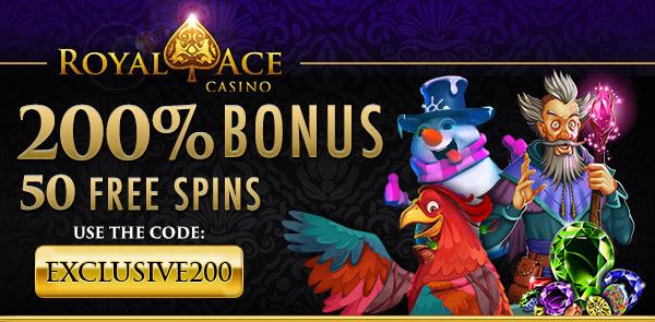 Claim Your 200% Bonus + 50 Free Spins
