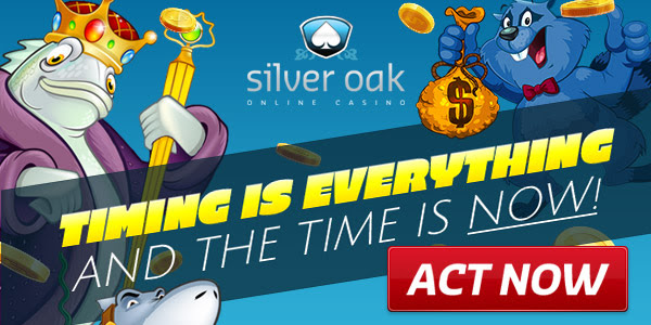 Timing is everything at Silver Oak. And the time is now.