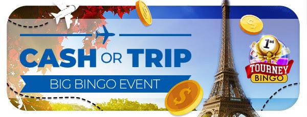 Cash ili Trip Big Bingo događaj