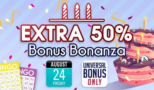 Osvojite veliki bonus Bonanza rođendana