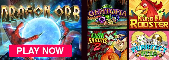 Širok izbor omiljenih igara