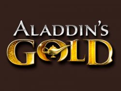 Aladdins Gold Casino- ի էկրանին