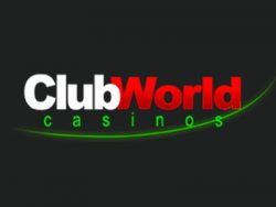 """Club World Casinos"" ekrano kopija"