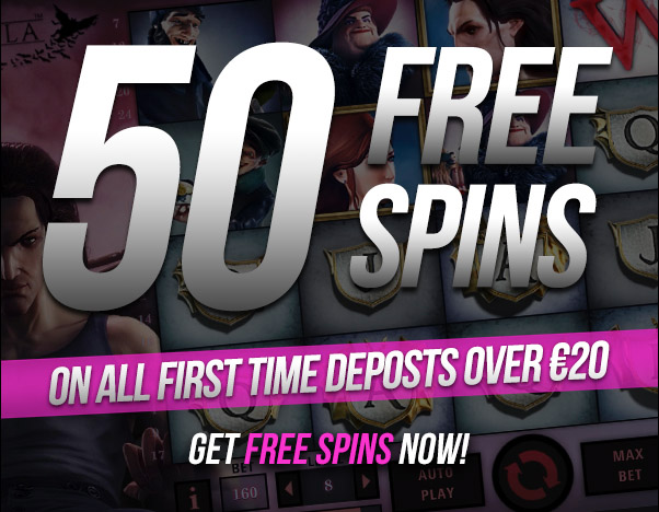 50 free3 spins at uptown casino
