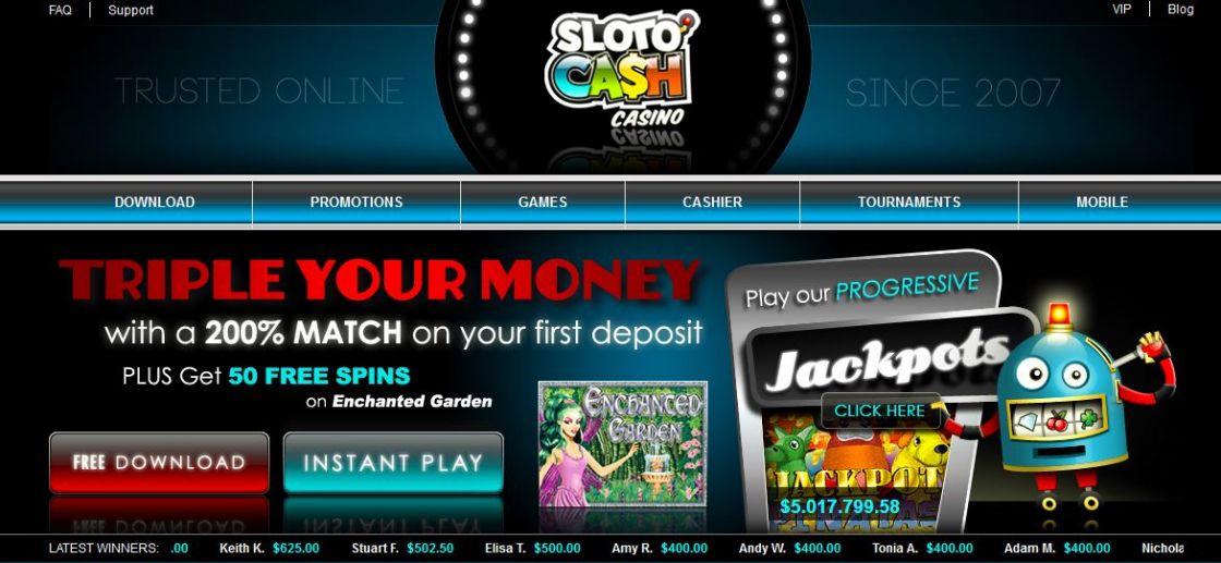 sloto cash их хэмжээний урамшуулал