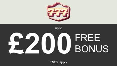 777casino bonus