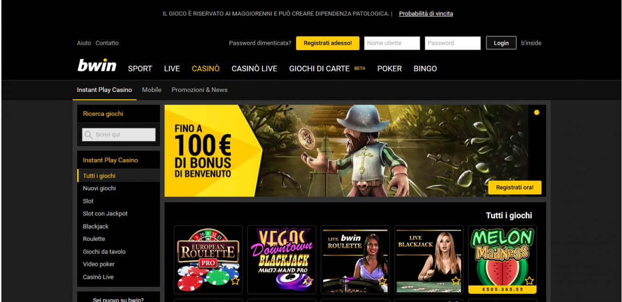 100 Euro Bwin казино бонус