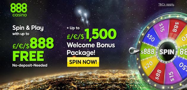 888 casino bonus. 8 FREE. ,500 Welcome Bonus Package at 888 Casino