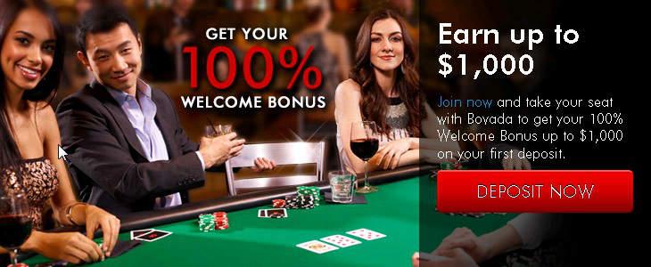 Bovada Casino-д 100% Bonus авах. 000 хүртэл олох. bovada казиногийн урамшуулал