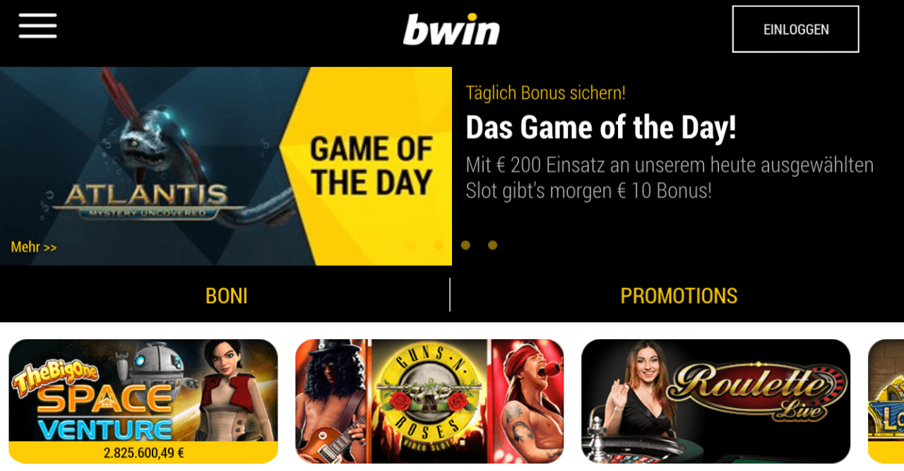 Bwin Casino Welcome Bonus. 50 Spins (selected NetEnt Game)!