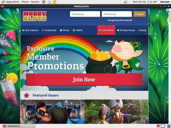 mobby Slots Casino Bonus