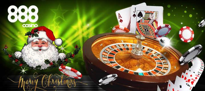 Ho! Ho! Ho! Merry Christmas Casino big Bonus ,888 at 888 Casino Online