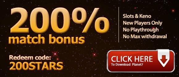 planet7 casino bonus