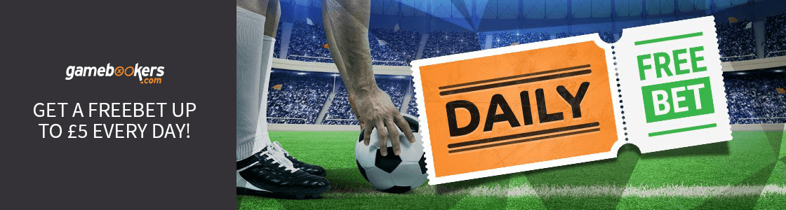 Nabavite FREEBET do svakog dana u Gamebookersu