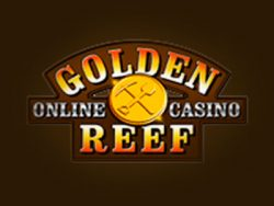 Golden Reef Casino- ի էկրանին