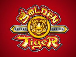 Golden Tiger Casino- ի էկրանին