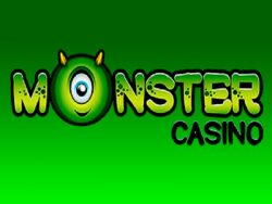 Zaslon Monster Casino