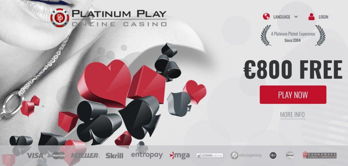 Platinumplay Casino Bónus