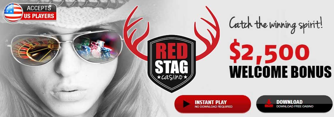 Red Stag Казино 2 урамшуулал. ямар ч орд урамшуулал + 200% казино урамшуулал