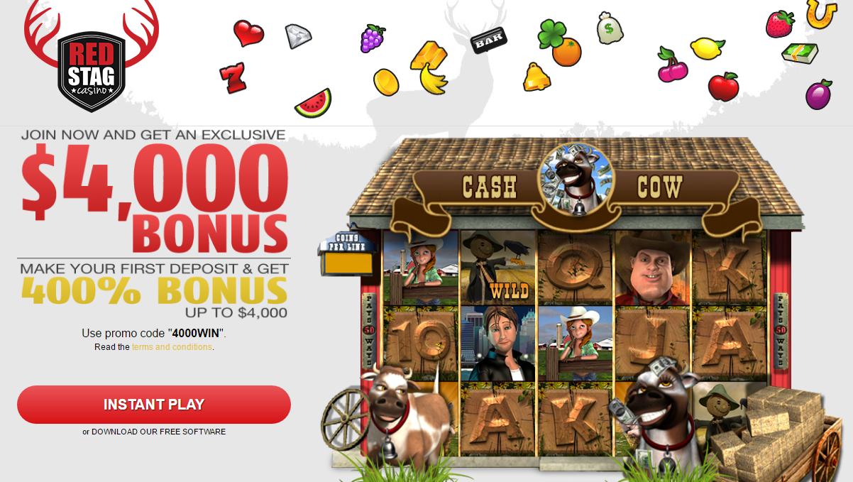 redstag casino bonus