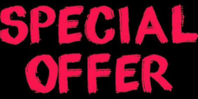 special casino offer
