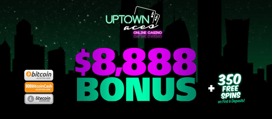 uptownaces casino big bonus