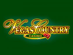 Vegas Country Casino- ի էկրանին