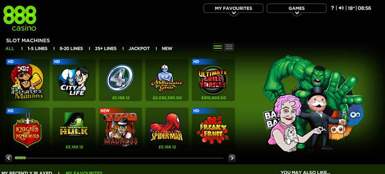 Up to 90 free spins + 30% match up to 0 at 888 Casino