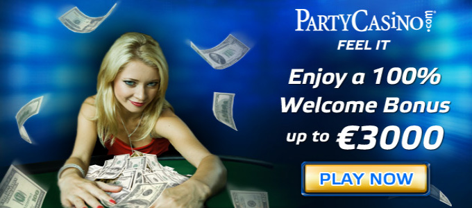 1 Free Chip at Party Casino Online