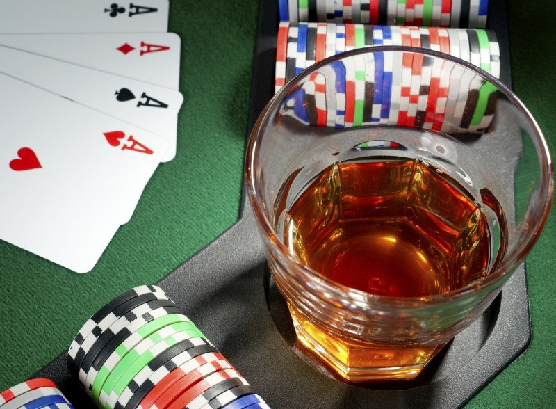 Alcohol and casino gambling