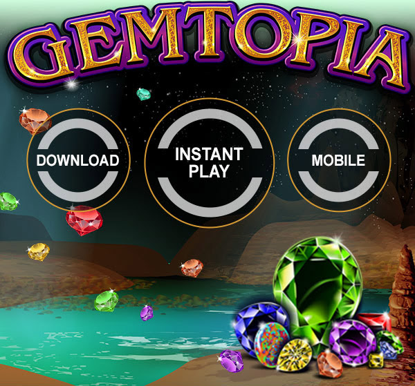 FOR SLOTS FANATICS 200% Match + 200 Gemtopia Spins on Top at Sloto Cash
