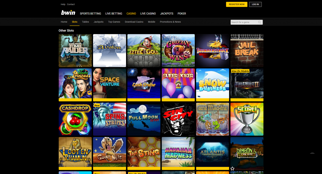 200% up to 0 + 25 Spins at bWin Casino