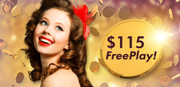 It's our treat! 5 FreePlay at 777 Casino