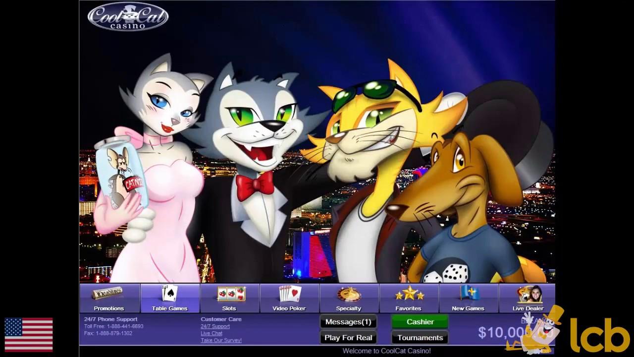 l-ebda bonus ta 'depożitu fil Cool Cat Casino