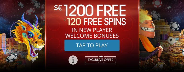 120 FREE SPINS (Min 1 deposit between Monday and Sunday) at Sloto Cash