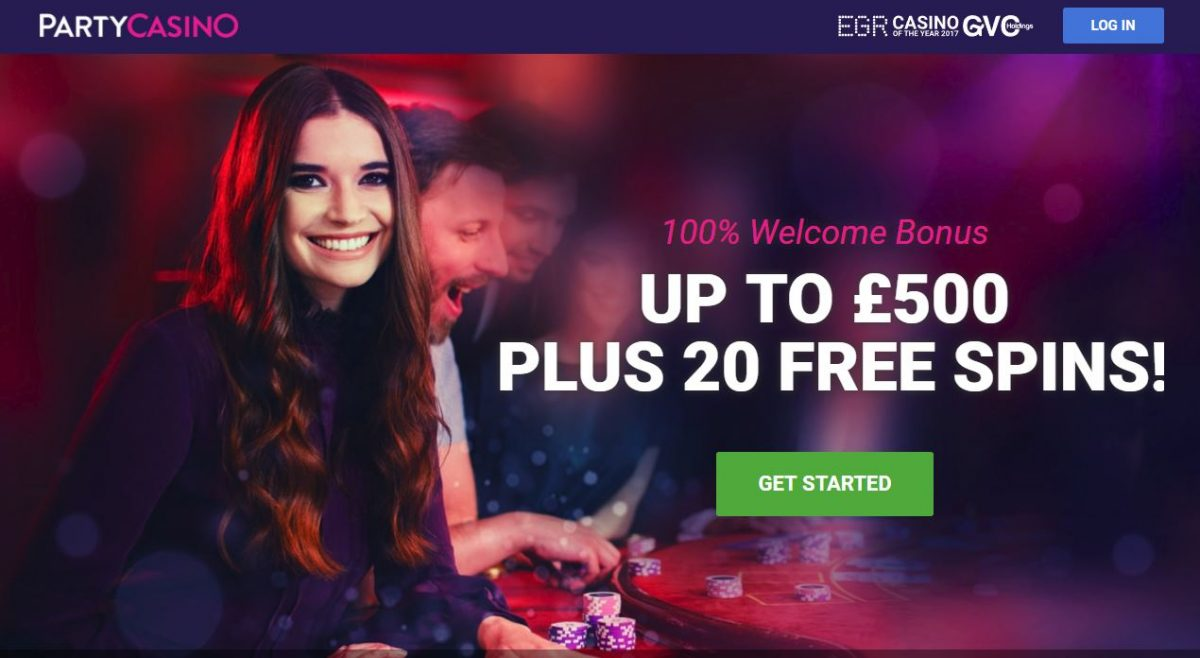 Use Party Casino Bonus Code for a 0 bonus