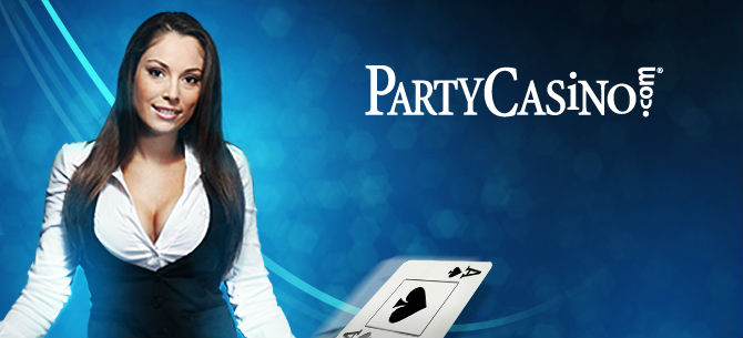 Up to 50 free spins + 80% deposit match bonus at Party Casino Online