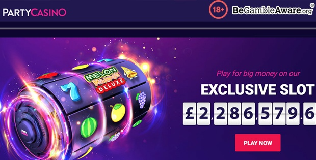 no deposit bonus at Party Casino