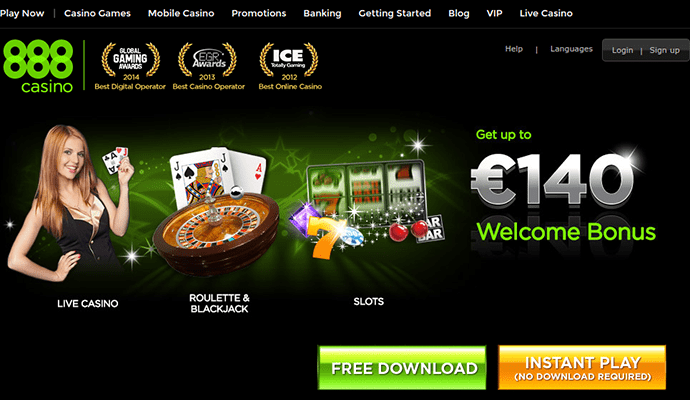 MAKE YOUR FIRST 2 DEPOSITS AND GET UP TO ,000 at 888 Casino!