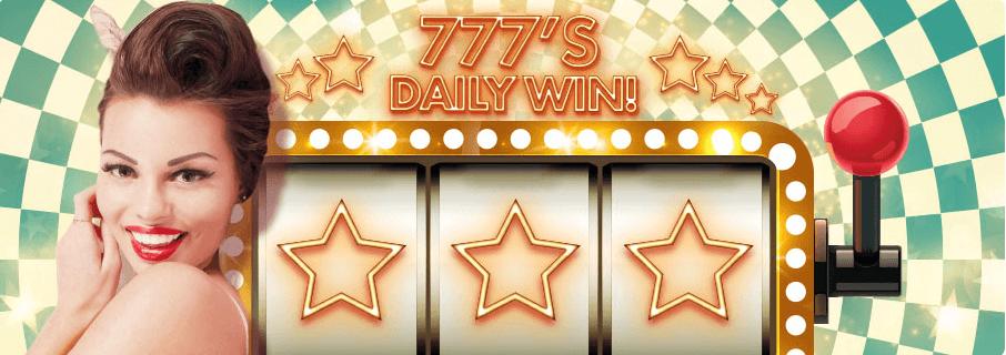 777,s Daily win at 777 Casino. 65 Free Spins + 0 No Deposit Bonus. 777 casino bonus